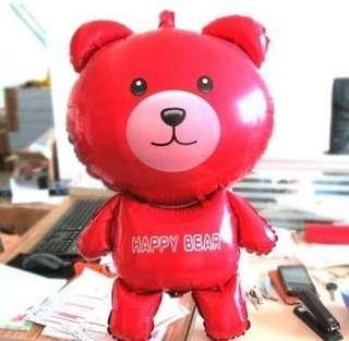 70cm 熊仔鋁膜汽球