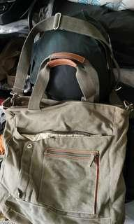 🚚 Padini Authetic Bag Vintage Army green