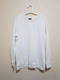 🚚 White Pullover