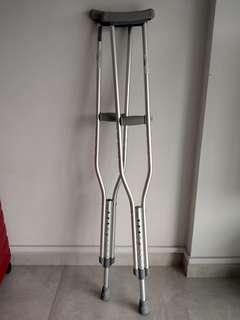 Crutches - 1 pair