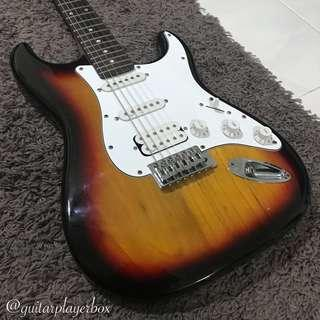 Artisan Stratocaster Electric Guitar *with Squier Pickups