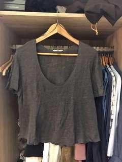 Gray Loose Tshirt