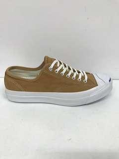 CONVERSE JACK PURCELL SIGNATURE OXLUGGAGE TAN LEATHER