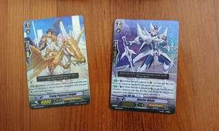 🚚 Blaster blade and young Pegasus knight (vanguard)