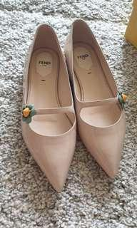 Nude Flat Shoes