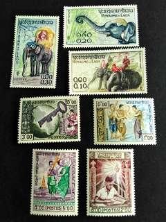 🚚 Laos unused stamps