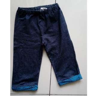 Uniqlo Kids Original Denim Katun Celana Tanggung