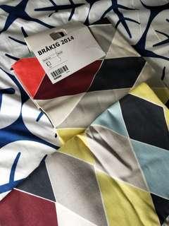 IKEA Large cushion covers. Unused, 2pc BRAKIG 2014