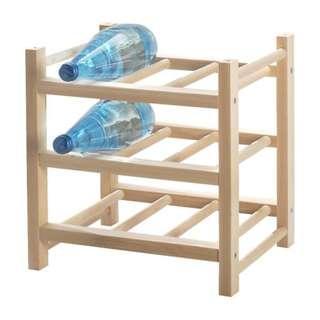 Almost New IKEA HUTTEN Wine Rack | Wine Storage Holder