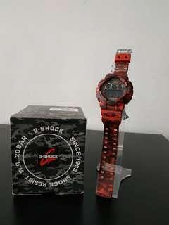 Casio G-Shock GD-120CM-4 Military Army Watch Jam Askar