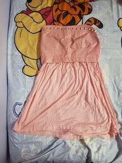 Pink Tube Dress #shero