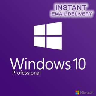 [LIFETIME] Windows 10 Pro/ 8/ 7 Genuine License