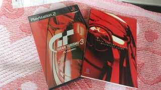 PS2 Gran Turismo 3 連reference guide book