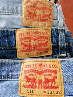 Levi's Jeans 511 Slim for sale!