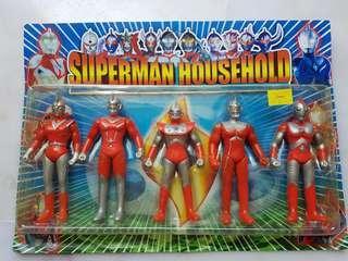 🚚 Ultraman Figurines