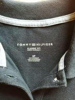 Authentic Tommy Hi)lfiger slim fit polo