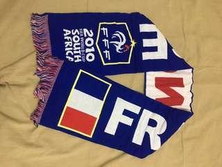 Vtg France World Cup Muffler 2010