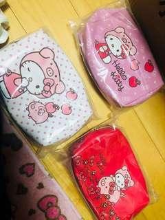 Kitty化妝包 7-11豬年化妝包