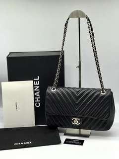 Chanel jumbo Chevron full set