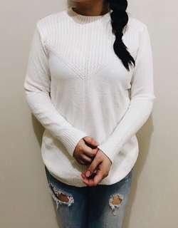 Brand New Cream Cable Knit Sweater
