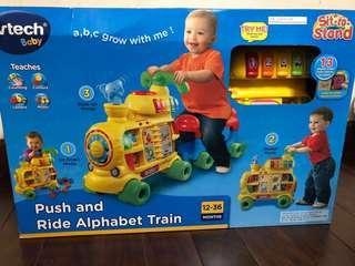 Vtech 玩具 push and ride alphabet Train