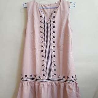 Pink Whisk Dress