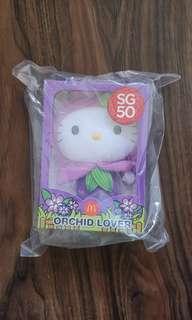 BNIB Hello Kitty SG50 plush - Orchid Lover