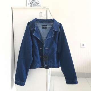 BerryBenka Cropped Denim Jacket