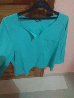 Blouse tosca & pink (TAKE ALL)