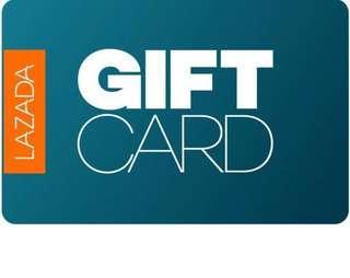 🚚 WTB $50 Lazada Gift Card