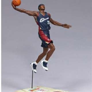 🚚 LeBron James Figurine NBA McFarlane Limited Series