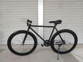 26 inch black road bike