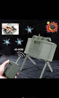 🚚 Electric remote control bullet launcher mine outdoor toy