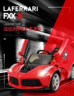 RASTAR法拉利FXX K電動兒童車 #Ferrari #搖控車