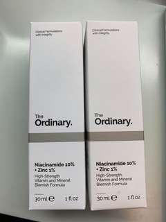 The Ordinary Niacinamide 10% +Zinc 1%