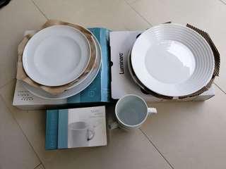 🚚 Plates and mugs - KAHLA & Luminarc