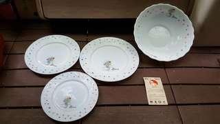 🚚 畢卡索 耐熱強化餐盤組(3盤1組)