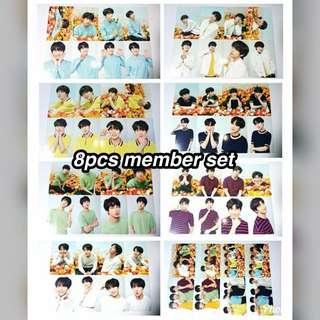🚚 [PO] BTS Love Yourself Tour in Japan Member 8pcs Mini Photocard set