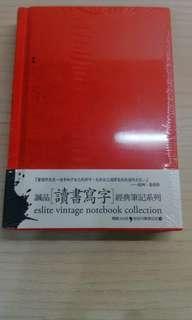 🚚 誠品 進口荷蘭布裱製精裝筆記本 小 原價220售110
