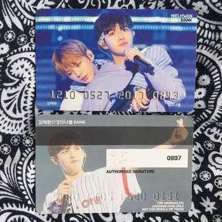 [Instock] Nielhwan / Jaehwan / Daniel PVC card