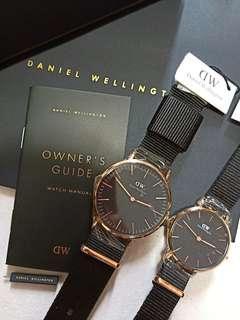 🚚 Daniel Wellington Cornwall Black