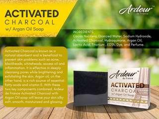 Activated Charcoal with Argan Oil Soap