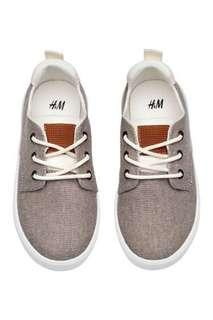 NEW H&M Boy Kids Canvas Sneakers Shoes
