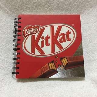 Kitkat Notebook