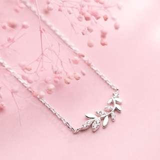 🚚 Tree branch necklace and silver necklace - Korean - Minimalist - S925 - Sterling Silver