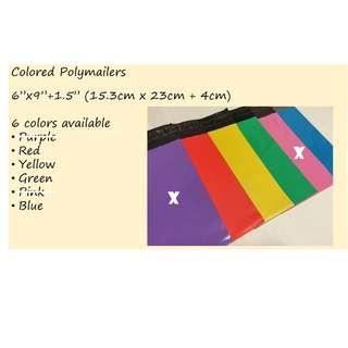 Small Poly Mailer Bags in Various Colors | Polymailer | Mailing Pouch | Mailer Bag | Packaging | Packing Material