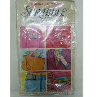 Pocket Edition Scrabble Brand Crossword Game (Vintage)