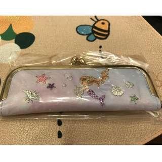 小美人魚印鑑包/印章包-紫 日本帶回全新未拆