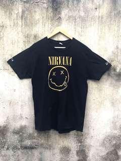 🚚 Vintage 古著二手 NIRVANA 黑色樂團Tee T-shirt