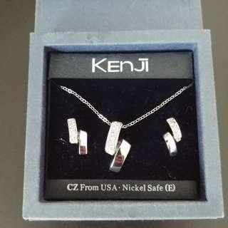 Kenji Necklace and Earring set